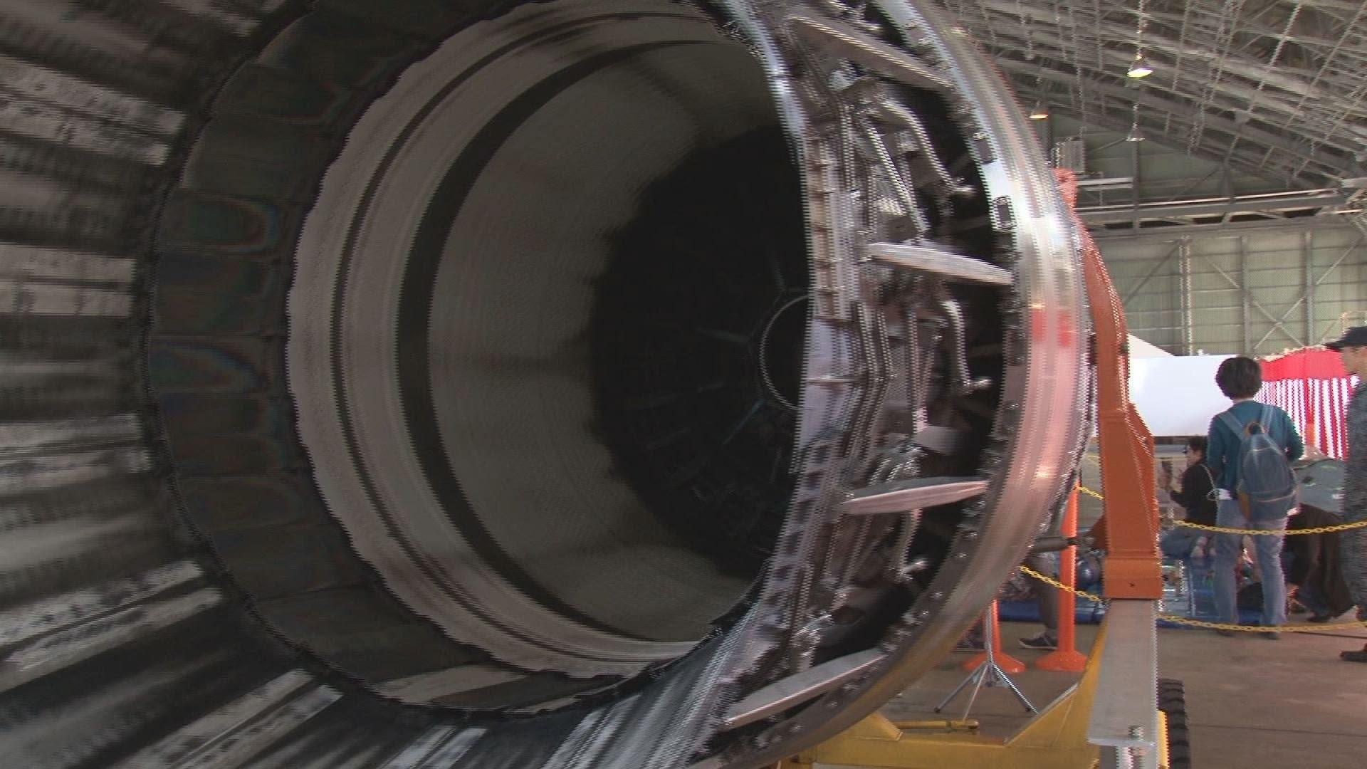 【動画】F-15Jエンジン展示 / 那覇基地エアーフェスタ2014