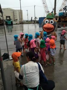 沖縄地本のキャラクター、広報部鳥のくくる君