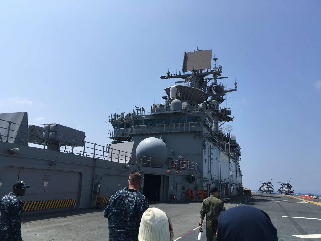 在沖米海軍ツアーに参加!ボノム・リシャール見学 No.1